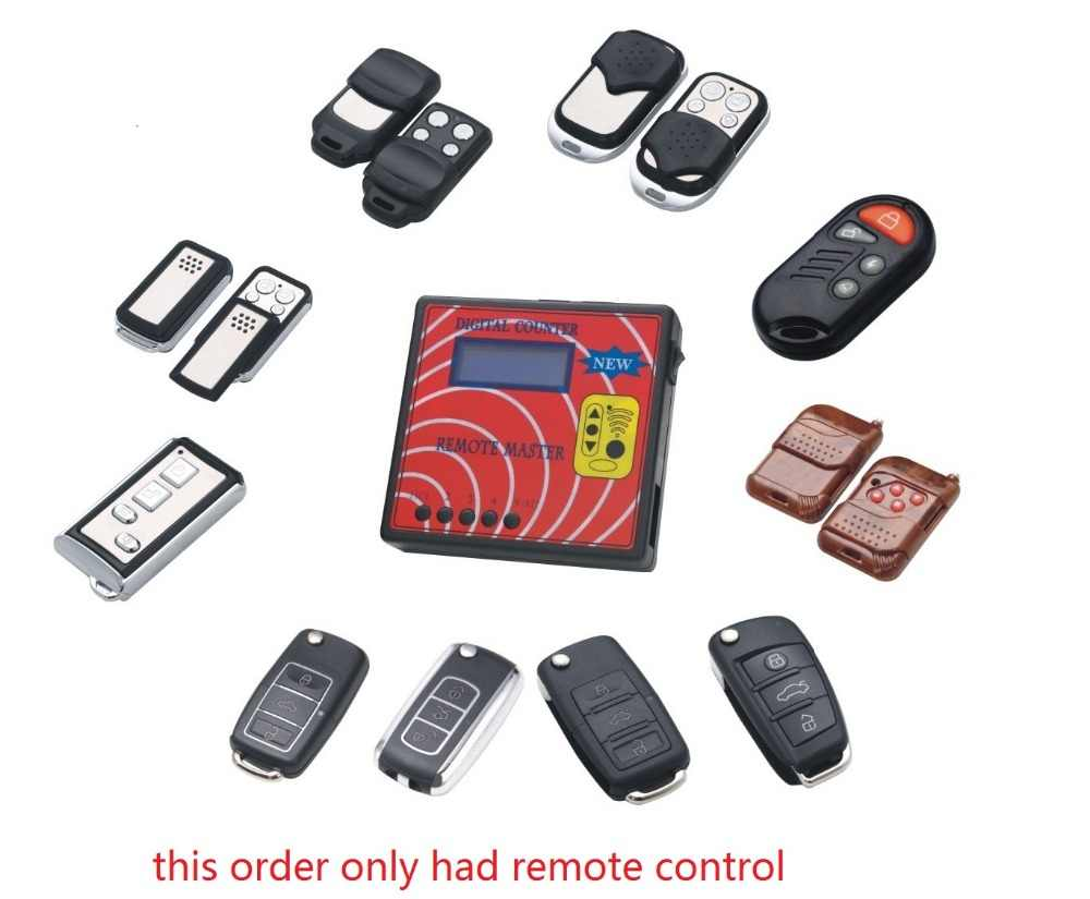 scoon free shipping wholesales NO.A fixed code sub-remote for remote master 433 adjsutable RF Wireless remote control duplicator