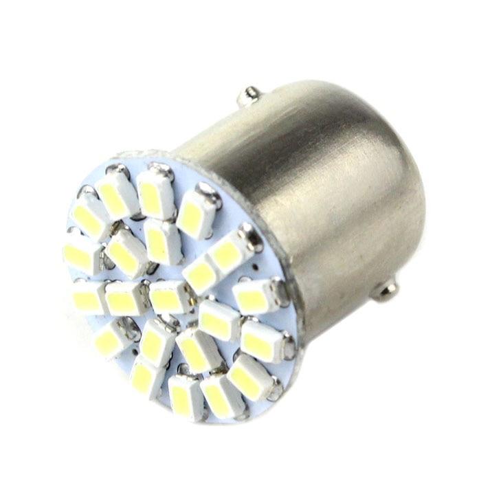 kongyide Healight Bulbs 10 X 1156 BA15S P21W 1129 Car 1206 22 SMD LED Tail Signal Light Lamp Bulb White NOV9