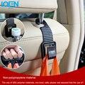 2 Pçs/lote Flexível Auto Car Gancho Carro de Volta Assento Encosto de Cabeça Acessórios Do Carro Automotivo Ganchos Para Saco Da Bolsa de Pano Mercearia Carro Styling