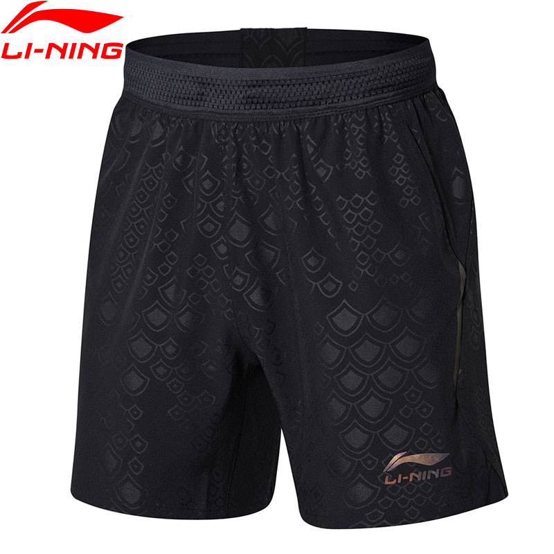 1e9994facde8 Li-Ning Men Table Tennis Shorts For National Team Regular Fit Breathable  LiNing Comfort Sports Shorts AAPN163 MKD1543