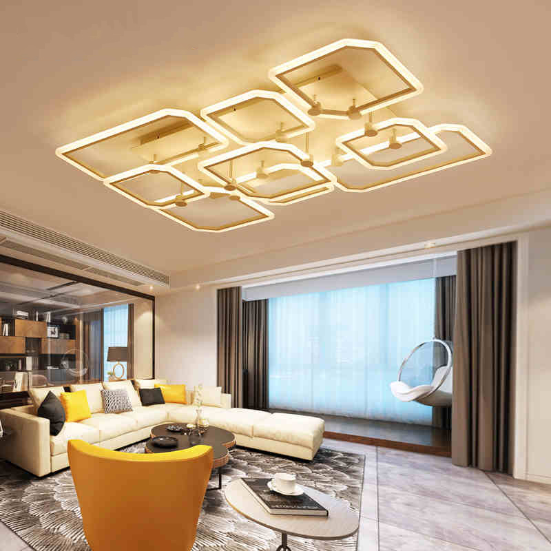Remote led ceiling lights Modern for bedroom dimmer ceiling lamps acrylic aluminum body light fixture for AC90-260V Dining room vemma acrylic minimalist modern led ceiling lamps kitchen bathroom bedroom balcony corridor lamp lighting study