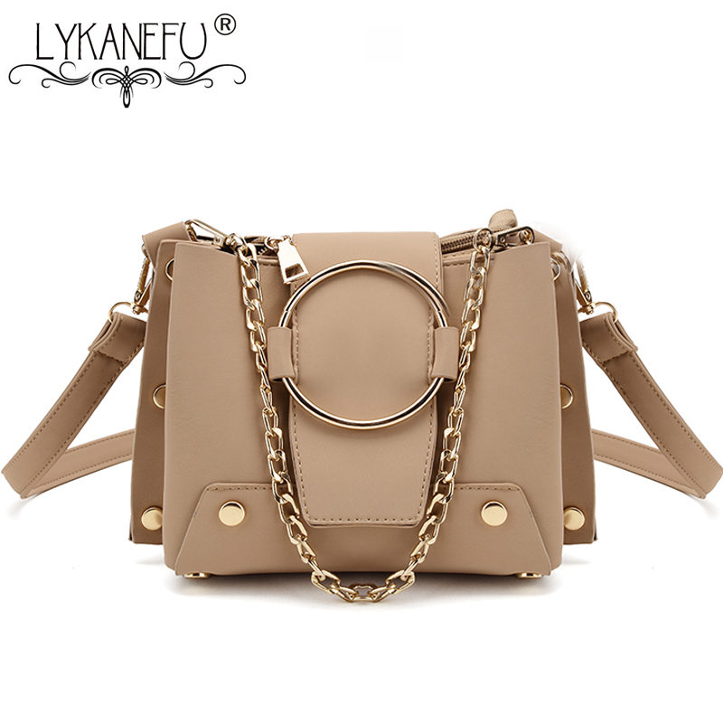 LYKANEFU Brand New 2018 Women Messenger Bags Designer Handbag Small Women's Shoulder Bag Lady Sac Bolsas Femininas Bolsa bolsas femininas large shoulder bag brand designer totes women messenger crossbody bags handbag 2016 office lady new clutch