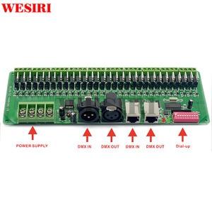 Image 2 - 30 kanal DMX 512 RGB Denetleyici 30CH DMX RGB LED Şerit Dekoder Dimmer Sürücü DC9V 24V
