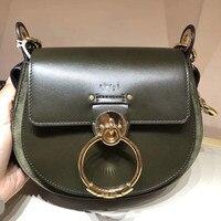 Женская сумка на плечо 2018 Роскошная брендовая дизайнерская сумка женская сумка через плечо сумка Bolsas Feminina натуральная кожа