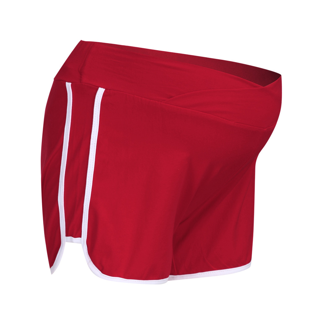 ARLONEET летние шорты для беременных с низкой талией, тонкие хлопковые шорты, Одежда для беременных женщин, повседневная спортивная одежда для беременных