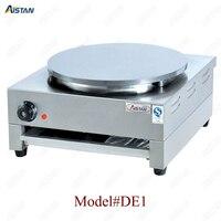DE1/DE2 electric crepe maker cooker griddle machine for snack maker equipment