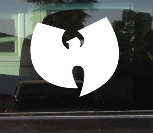 WU TANG CLAN VINYL DECAL STICKER  CAR WINDOW STICKERS VINYL DIY DECAL STICKER 15cm