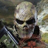 Mandrake Tactical Masks Military Paintball Balaclava Airsoft Balaclava Game Ghost Protective Gear Full Face Mask CF Equitment