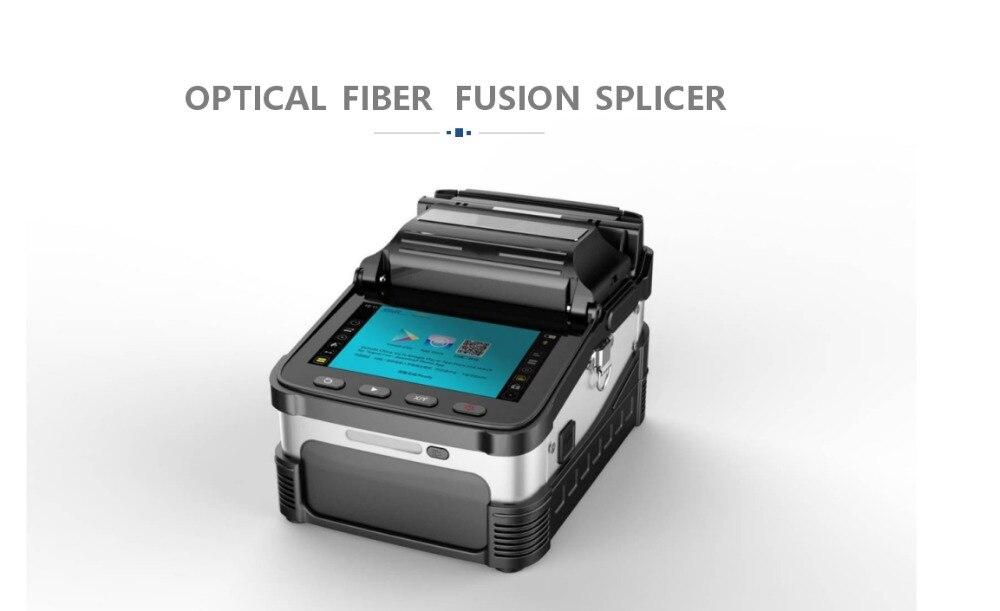 AI-7 d'épissage automatique de soudure de Fiber optique de FTTH de SM et de MM de signalfire