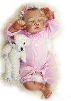 20 дюймов силиконовые Reborn куклы младенца настоящая рука touch рисовать моделирование реалистичные lol origianl винил возрождается lol куклы младенце