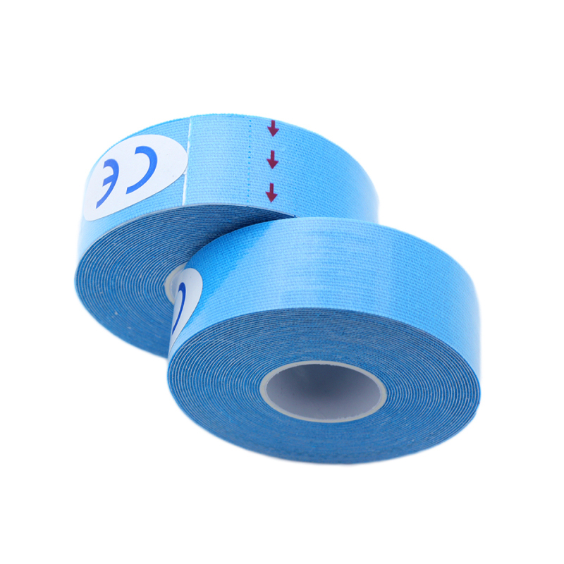 Muscle Protection Tool Bandage Tape Sport Taping Roll Cotton Elastic Adhesive Strain Injury Muscle Sticke Elastic Knee Protector