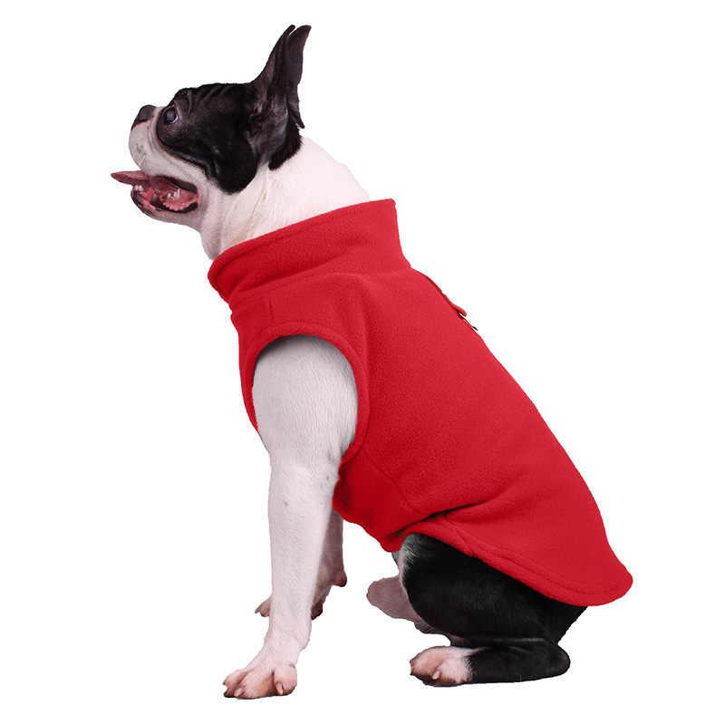 1 pc inverno velo roupas para animais de estimação casacos para cães cachorro roupas bulldog francês casaco pug trajes jaqueta para cães pequenos chihuahua
