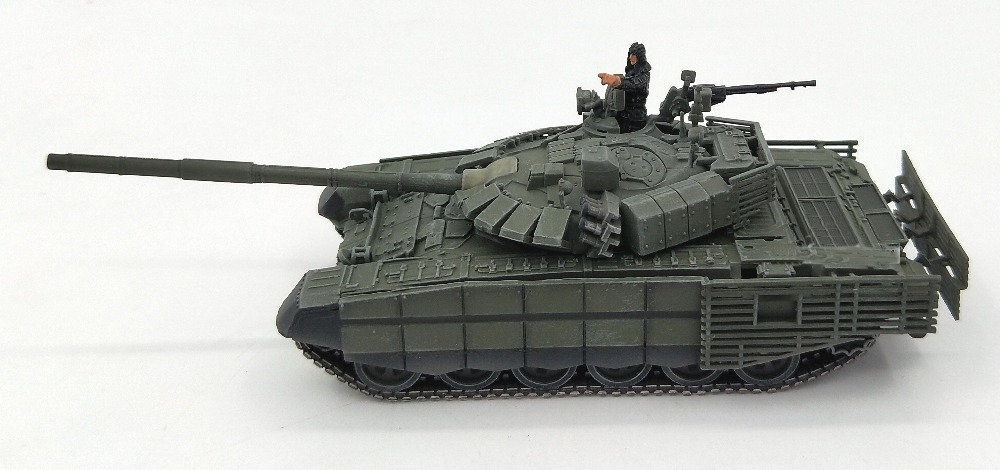 1:72 Russian army T72B3 main battle tank model parade painting Collection model