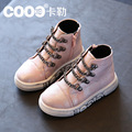 The new high help children sandals skin girl han edition boy sneakers loafers