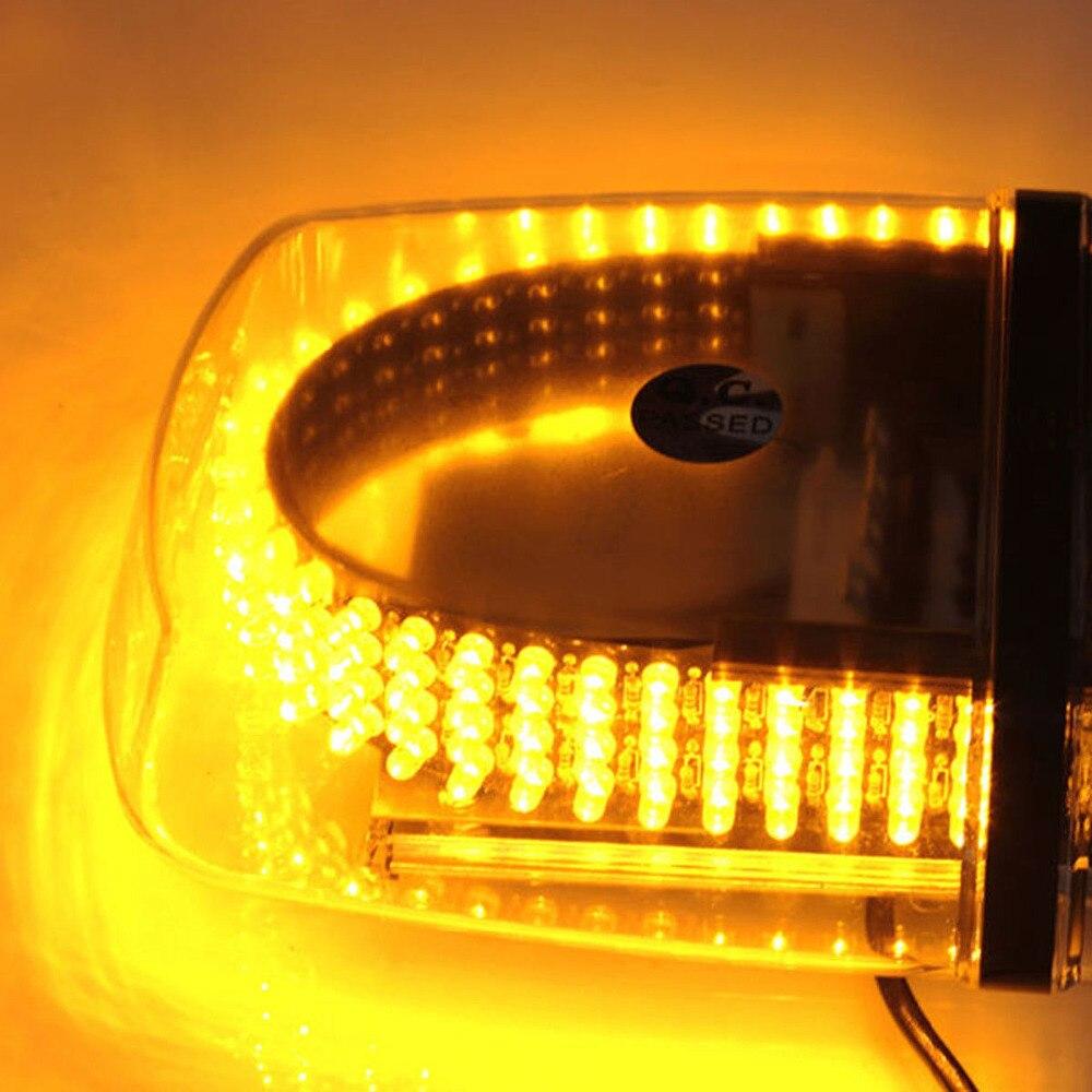 240 LED Roof Top Emergency Warning /Mini Bar Strobe Light -Magnetic Base Flare Flashing Vehicle Light bar