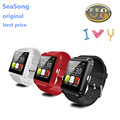 SmartWatch Bluetooth Smart Watch U8 WristWatch Wearable Devices for iOS iPhone & Android Phone SAMSUNG XIAOMI HUAWEI