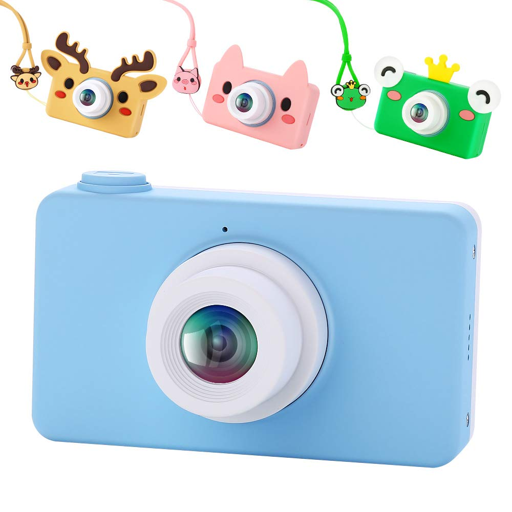 Image 4 - Digital Kids Camera Cute Cartoon Mini SLR Point Shoot Camera For Children Birthdays Gift CMOS 2inch Full HD Kids Boys Camcorders-in Point & Shoot Cameras from Consumer Electronics