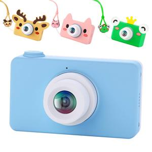 Image 4 - Digital Kids Camera Cute Cartoon Mini SLR Point Shoot Camera For Children Birthdays Gift CMOS 2inch Full HD Kids Boys Camcorders