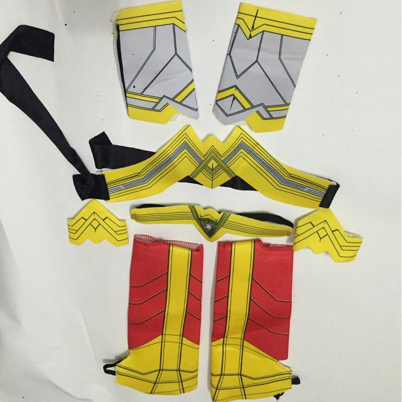 Purim Deluxe Wonder Woman Costume Cosplay Halloween Superhero Girls Child Dawn Of Justice Princess Diana Dress Up Suit (11)