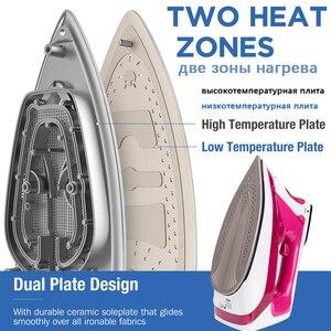 Image 2 - 2400 w ferros de vapor elétrico digital display led para roupas eletrodomésticos alta qualidade ferro engomar 220 v sonifer