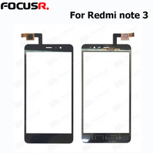 New Outer Top Screen Lens Front Glass For Xiaomi note 3 LCD Screen Replacement Touch Panel touch screen repair parts(China)