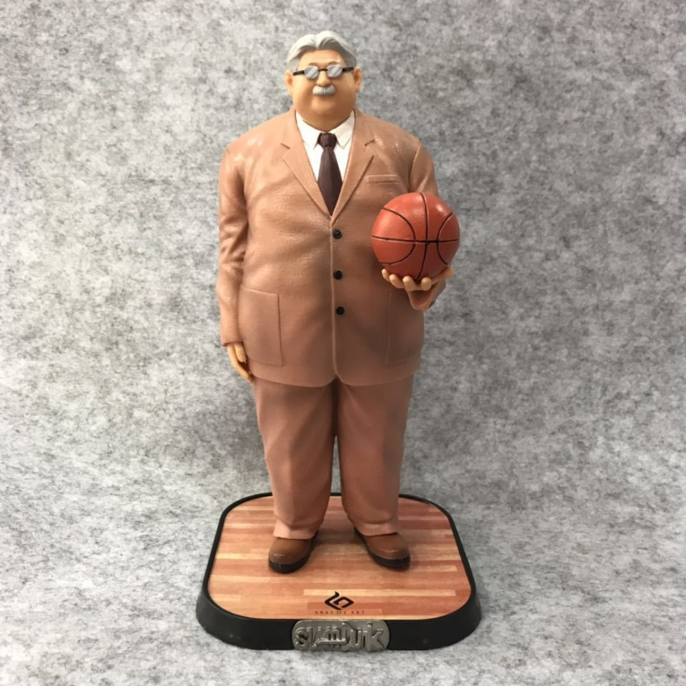21cm SLAM DUNK Mitsuyoshi Anzai coach Action figure toys doll Christmas gift with box21cm SLAM DUNK Mitsuyoshi Anzai coach Action figure toys doll Christmas gift with box