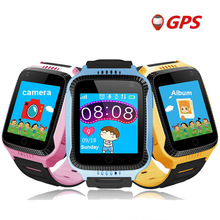 Children's Smart Phone Watch Suit for Ios Android OS Kids Wristwatch 1.44 Inch Touch Screen SOS GPS Positioning Tracker Clock zgpax pg88 gsm watch phone w 1 44 lcd screen quad band gps positioning and sos black silver