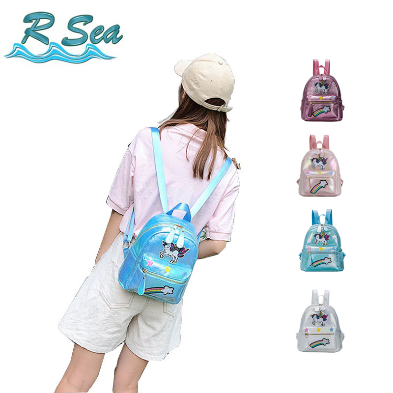 Cute Unicorn Backpack or Small Shopping Backpack Girl Cosmetic Fashion Bags PVC Kid Cartoon School Bag DropshippingCute Unicorn Backpack or Small Shopping Backpack Girl Cosmetic Fashion Bags PVC Kid Cartoon School Bag Dropshipping