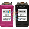 Hot Free shipping high quality compatible ink cartridge for HP901 901XL HP J4580 4660 4680 hp4500 901 large capacity hot sale