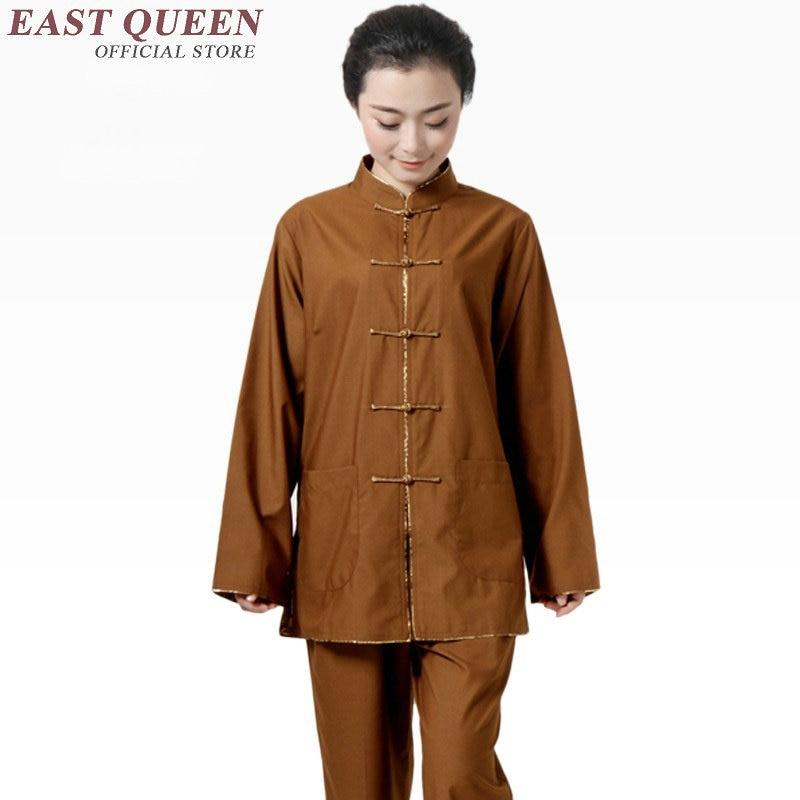 designer fashion 7203f 0b2eb US $61.6 45% di SCONTO|Donne dei vestiti monaco buddista vesti monaco  buddista monaco shaolin abbigliamento KK1289 C-in Vestaglie e vesti da  Novità e ...