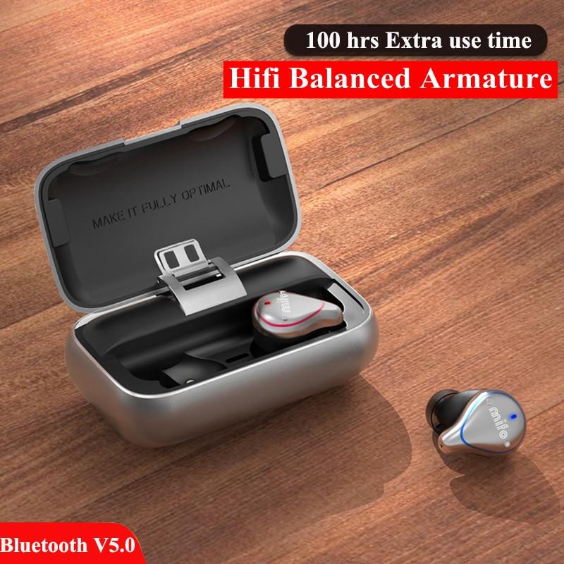 Nouveau Bluetooth 5.0 Écouteur Sport Sans Fil Sans Fil Écouteurs Stéréo dans l'oreille Bluetooth Étanche Sans Fil mini-écouteurs Écouteurs