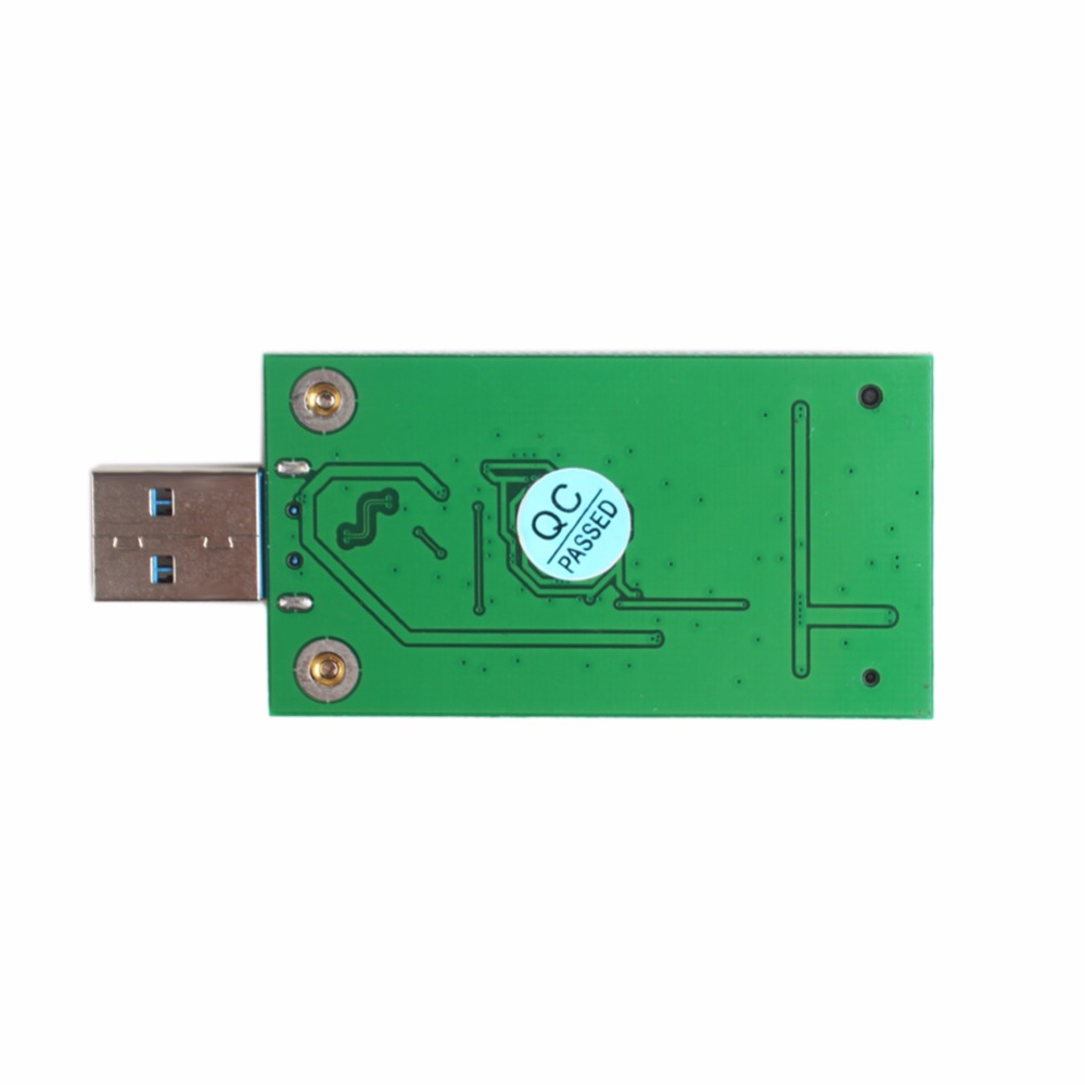 MSATA SSD to USB 3.0 External SSD PCBA Conveter Adapter Card
