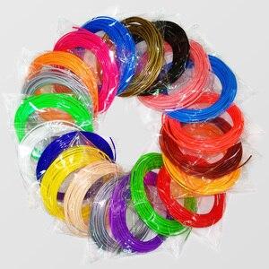 Image 3 - جودة المنتج abs 1.75 مللي متر 20 الألوان 3d القلم خيوط pla خيوط خيط abs 3d القلم البلاستيك 3d خيوط مناسبة للطباعة abs البلاستيك
