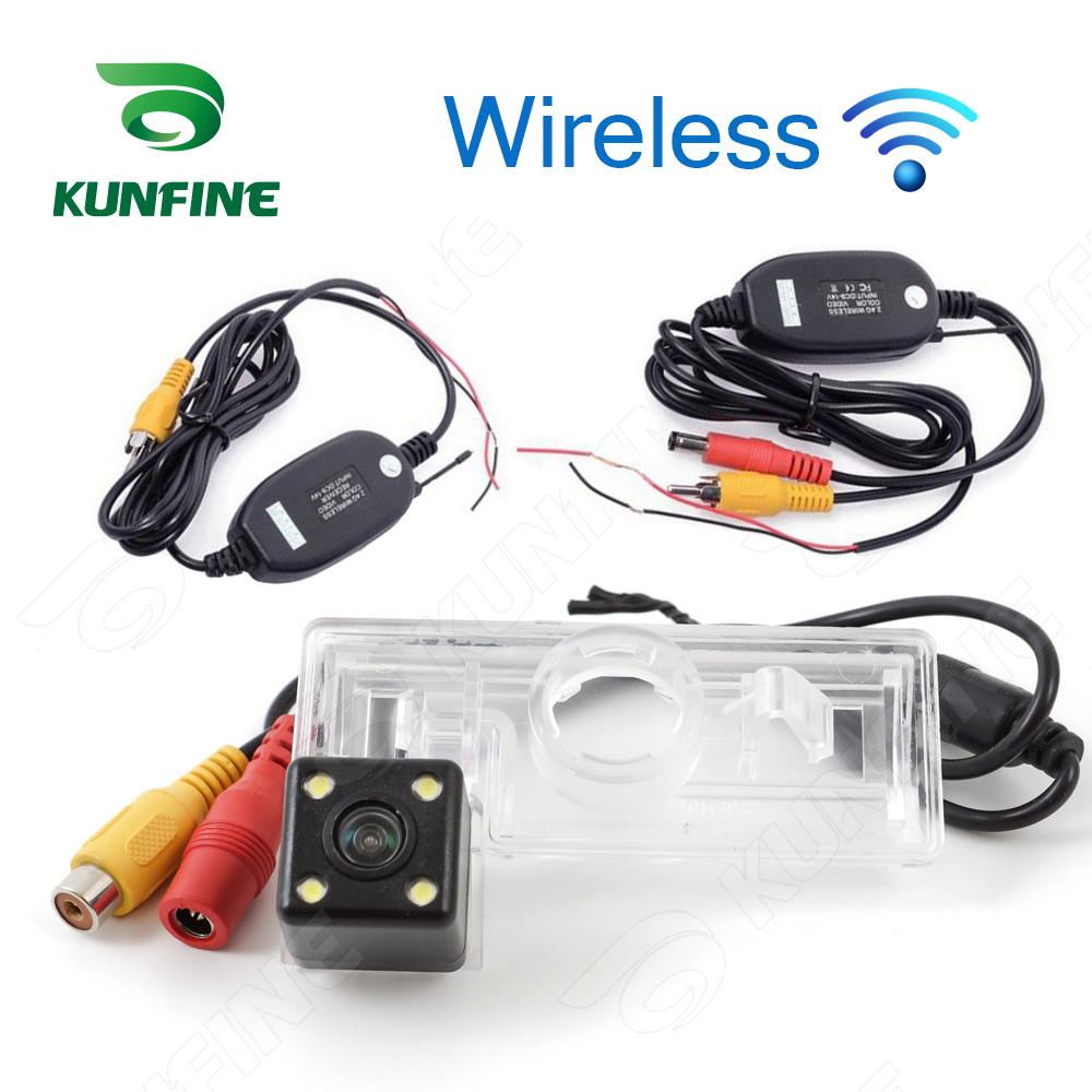 HD Wireless Car Rear View Camera For <font><b>Suzuki</b></font> <font><b>SX4</b></font> Saloon 2011 <font><b>2012</b></font> Parking Assistance Camera Night Vision LED Light Waterproof image