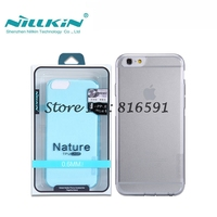 Free Shipping Nillkin Nature Series Ultra Thin TPU Case For Apple IPhone 6 IPhone6 4 7