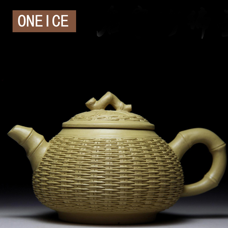 Bamboo Pot Authentic Yixing Teapot Famous Handmade Teapot Of The Original Section Of Mud Famous Crafts