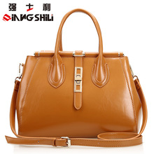 Free Shpping 2016 Spring Handbag European Fashion Leather Shoulder Bag Ms. Messenger Portable Bag Female Large Capacity Totes