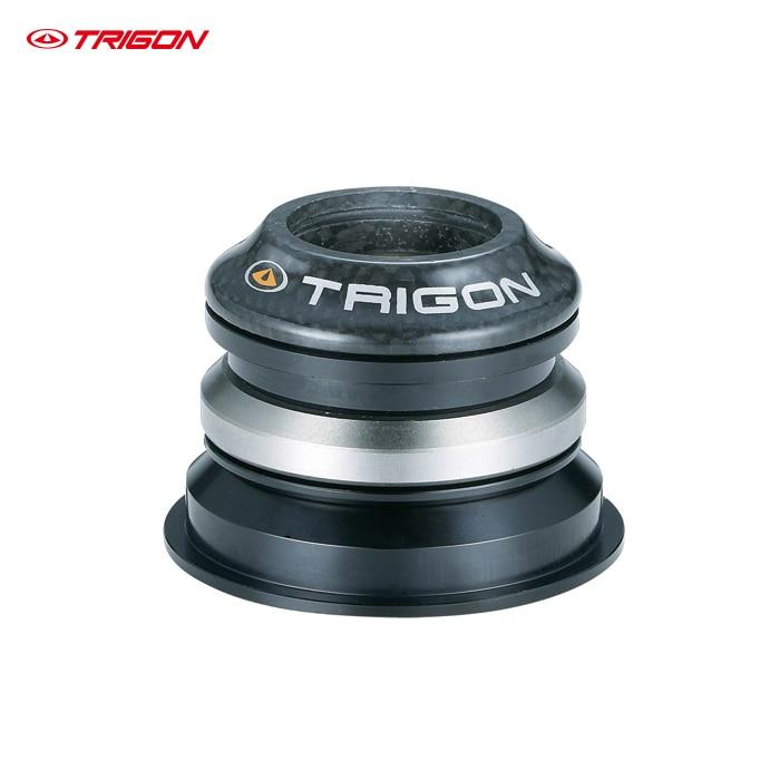 TRIGON MTB M2C moutain bike bicycle taper steerer headset threadless taper headset bearing headset bicycle headset 1 1/8 -1.5 kcnc bicycle heasets parts taper 1 5 1 1 8 khs pt1860 taper integral gold os41 8mm 51 8mm bearings lightweight 92g