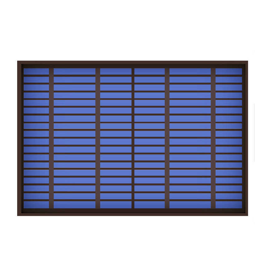 1PC X 6/9/18V 10Watt 10W Solar Panel Standard PET polycrystalline Silicon charge Battery Charge Module Mini Solar Cell