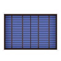 1 шт. X 6/9/18 в 10 Вт 10 Вт солнечная панель Стандартный ПЭТ поликристаллический силиконовый модуль заряда батареи мини солнечная батарея