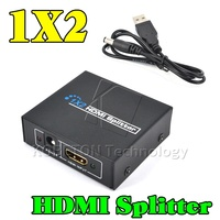 Newest 1 To 2 HDMI Splitter HDMI Switch 5V 1A Adapter USB Power Supply Cable For
