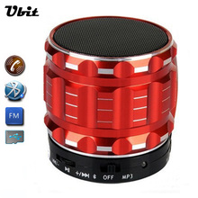 Ubit Portable Mini Bluetooth Speakers Metal Steel Wireless Smart Hands Free Speaker With FM Radio Support SD Card For Phone