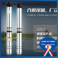 0 37KW 4GAL MIN 164Feet Stainless Steel Screw Submersible Deep Well Pump