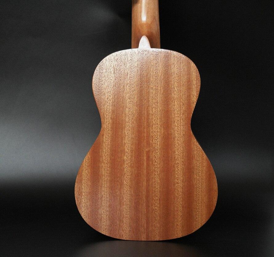 SevenAngel 26 pouces ténor électrique ukulélé acajou Mini hawaïen 4 cordes guitare palissandre Fretboard avec ramassage EQ - 3