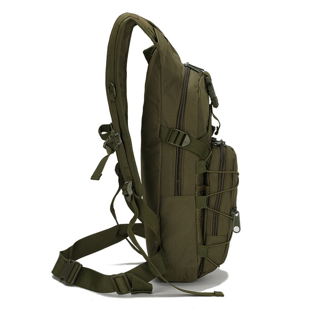 15L Molle Tactical Backpack 800D Oxford Military Hiking Bicycle Backpacks Outdoor Sports Cycling Climbing Camping Bag Army XA568 2