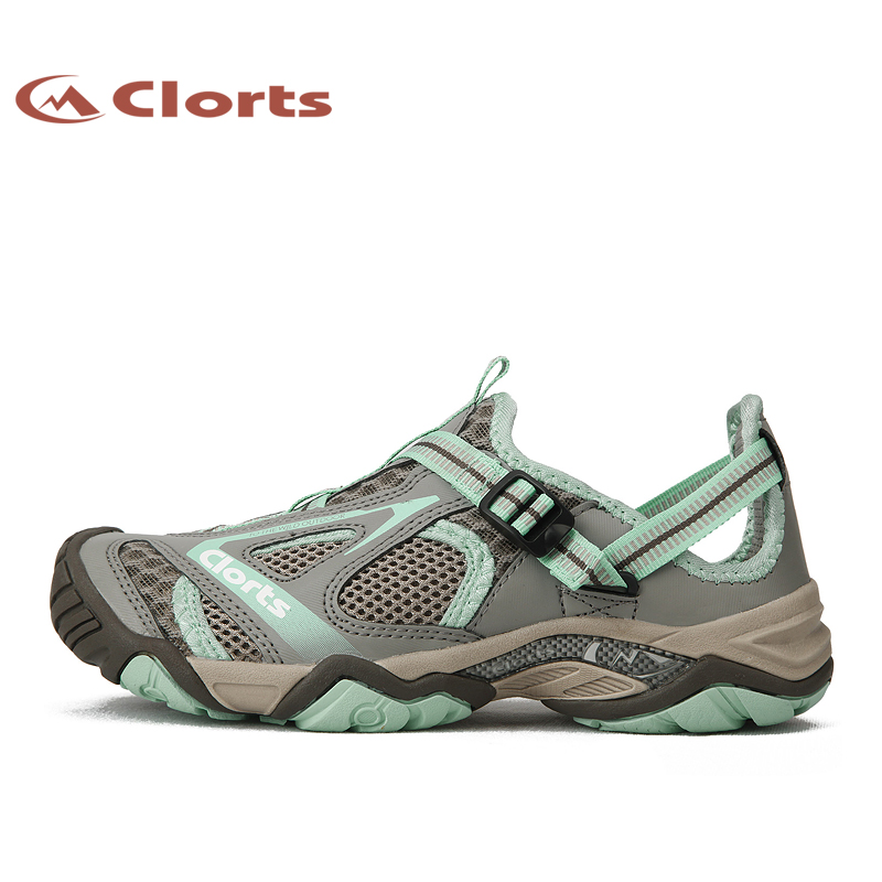 Clorts Women Upstream Shoes Quick-drying Wading Shoes Breathable Water Sneakers Outdoor Sandals 3H010 shanghai kuaiqin kq 5 multifunctional shoes dryer w deodorization sterilization drying warmth