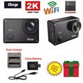 Free Shipping!Gitup Git2 Novatek 96660 1080P WiFi 2K Outdoor Sports Action Camera+Extra 1pcs 950mAh Battery+Battery Charger
