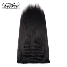 Straight Clip In Hair Extensions