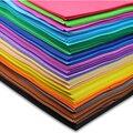 40 листов/много детей ручной работы diy накатки губка пены EVA бумаги смешанный цвет бесплатная доставка дешевые