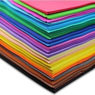 40 листов/партия Дети ручной работы diy накатки EVA губка мыло бумага Смешанные Цвет Бесплатная доставка Дешевые